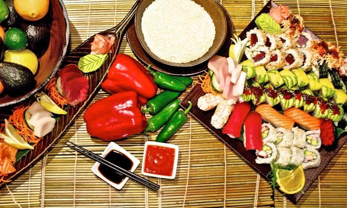 Bonsai Sushi and Asian Cuisine - De Pere: Sushi at Bonsai Sushi and Asian Cuisine (Up to 40% Off)