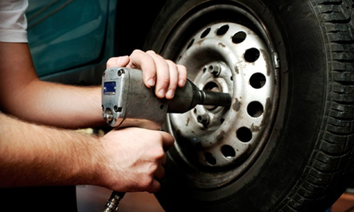 Crown - Pit Crew Tires, Fuel, and Service - Vestavia Hills: $29 for an Oil-Change Package with a Tire Rotation at Crown - Pit Crew Tires, Fuel, and Service ($70 Value)