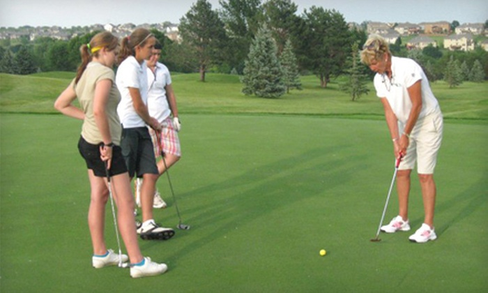 Sue Wieger Golf Academy - McCormick Ranch: Golf-Lesson Package at Sue Wieger Golf Academy (Up to 72% Off). Three Options Available.