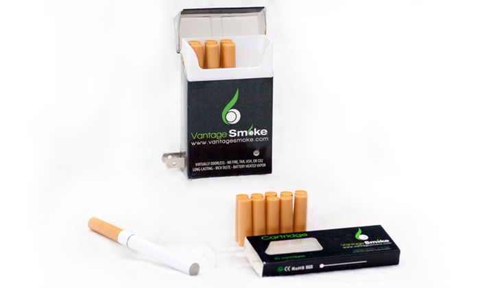 e-Cigarette Kit with Refills: $24.99 for an e-Cigarette Starter Kit with Refills ($99.99 List Price). Free Shipping.