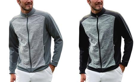Adidas Men's SpaceDye Colorblock Full-Zip Jackets 0ee8289c-47d2-11e7-96d7-00259069d868
