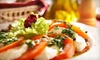 La Terrazza - Barclay: Four-Course Italian Dinner for Two or Four at LaTerrazza (Up to 60% Off)