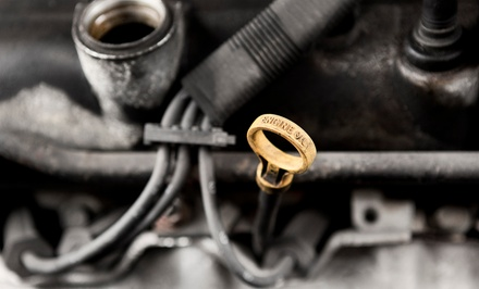 Oil Change, Alignment Service, or Check-Engine Light and Diagnostic Check at Villa Automotive (Up to 58% Off)