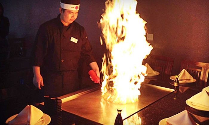 Sumo Sushi House - Livermore: $10 for $20 Worth of Sushi and Teppanyaki at Sumo Sushi House