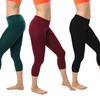 4-Pack of Women's Seamless Summer Leggings
