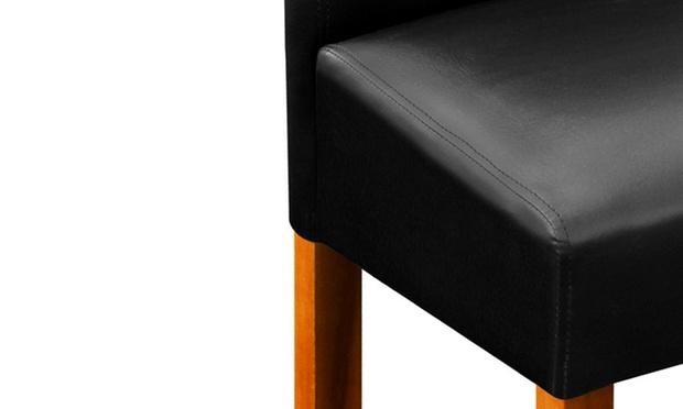 tabourets de bar acacia groupon shopping. Black Bedroom Furniture Sets. Home Design Ideas