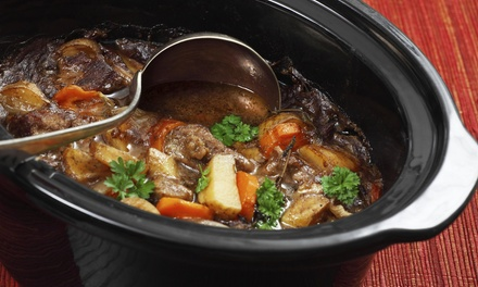$12 for $20 Worth of Take-Home Slow-Cooker Meals at What a Crock