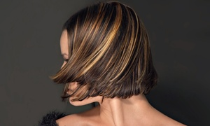 C'ilk Styling: Haircut, Blow-Dry, and Conditioning with Optional Partial or Full Highlights at C'ilk Styling (Up to 53% Off)