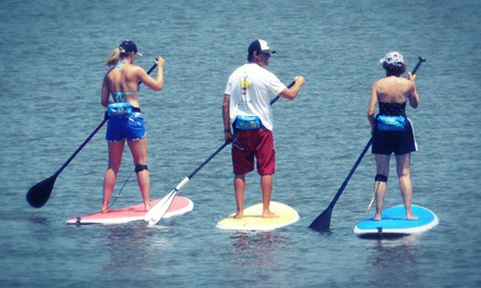 Surfs SUP - Ormond Beach: 60-Minute Standup Paddleboarding Lesson for Two or Four at Surfs SUP in Ormond Beach (Up to 56% Off)