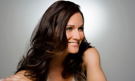 Women's Haircut Packages with Solid Color or Partial Highlights at Salon Louise (Up to 50% Off)