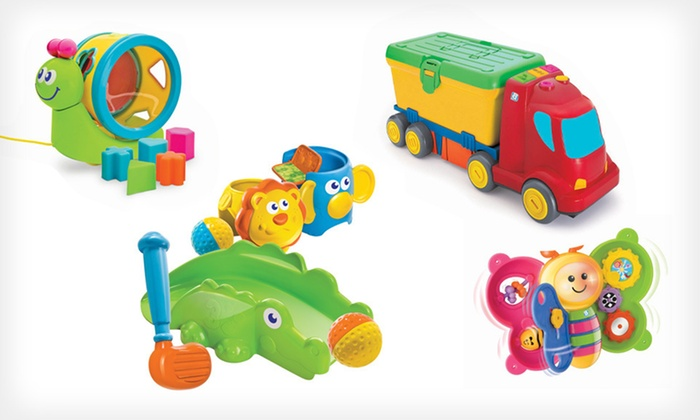 B Kids Toys: B Kids Toys (Up to 81% Off). Seven Options Available. Free Shipping on Purchases of $15 or More.