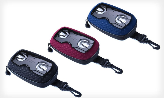 iLuv Street Beat Speaker Case: $8 for an iLuv Street Beat Portable Stereo Speaker Case ($29.99 List Price). Four Colors Available. Free Returns.
