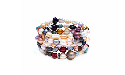 Freshwater Pearl Stretch Bracelet Set from $19.99–$29.99