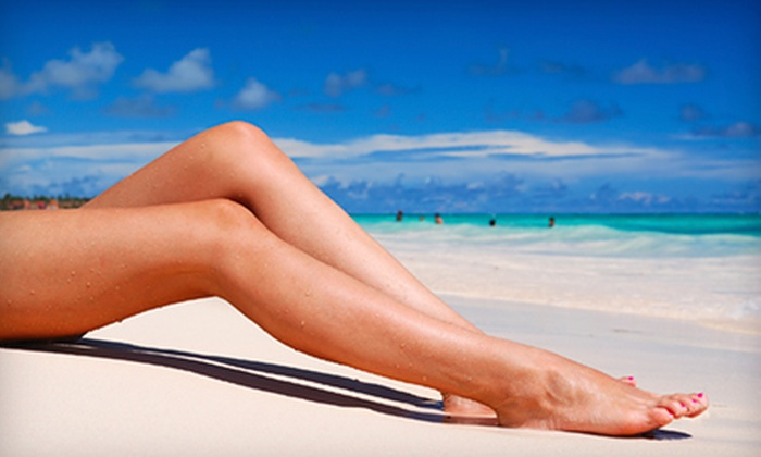 NY Sun Club - Multiple Locations: One or Three Organic Airbrush Tans at NY Sun Club (Up to 61% Off)