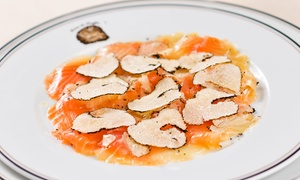 Terres deTruffes Nice: Menu gastronomique au choix pour 2 convives dès 69,90 € au restaurant Terres de Truffes