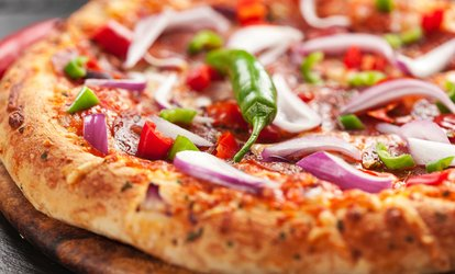 image for Casual Italian Food at Blues Fired Pizza (Up to 38% Off). Two Options Available.