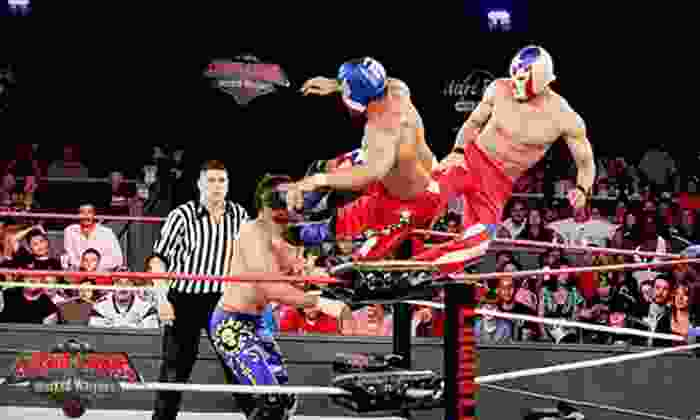 Lucha Libre USA: Masked Warriors - Downtown San Jose: $45 for Admission and Post-Show Meet-and-Greet for Two to Lucha Libre USA: Masked Warriors on April 12 ($99.20 Value)