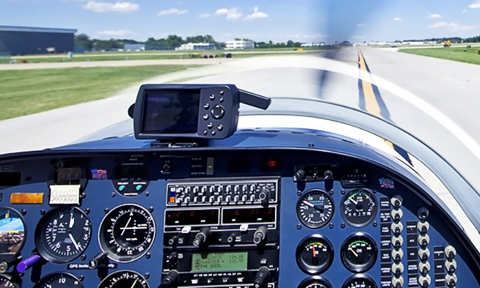 Drake Aviation Co - Hanger 3 at Midfield Terminal: Flight Lesson and Ground Instruction with Optional Additional Passenger at Drake Aviation Co (Up to 54% Off)