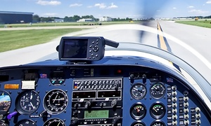 Drake Aviation Co: Flight Lesson and Ground Instruction with Optional Additional Passenger at Drake Aviation Co (Up to 54% Off)
