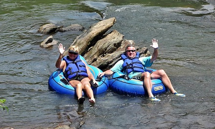 Inner-Tube or Inflatable Kayak Rental for Two or Four at Saluda River Rafting Adventures (Up to 51% Off)