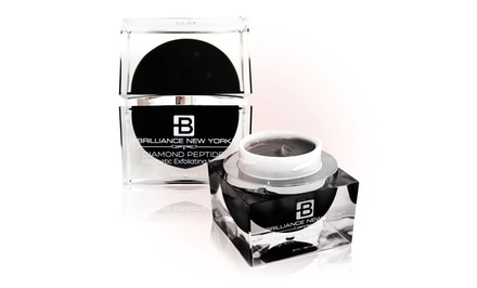 Brilliance New York Pearl Collection Diamond Peptide Night Cream; 30mL