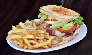 Eats! American Grill: Meals for Two at Eats! American Grill (Up to 45% Off). Two Options Available.