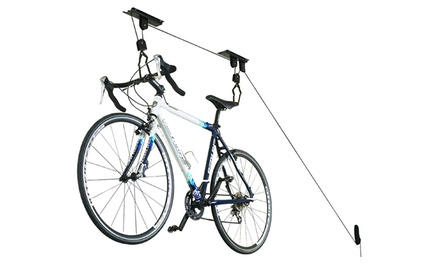 $24 for an Overhead Bicycle or Kayak Storage Kit with Pulley