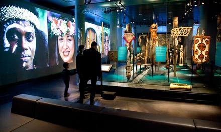 Entreetickets voor Museum Volkenkunde in Leiden voor 1 of 2 pers.