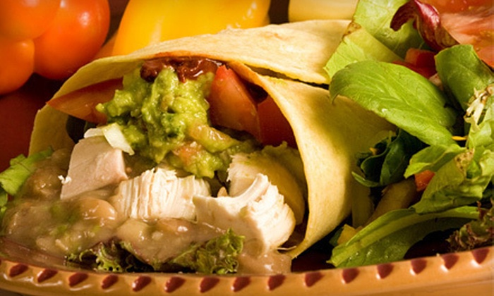 Zapata's Mexican Restaurant - Downtown: Mexican Fare at Zapata's Mexican Restaurant (Half Off). Two Options Available.
