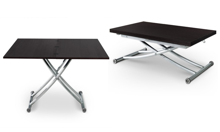 tout neuf 45d44 77aa6 Table basse relevable Carrera | Groupon Shopping