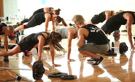 30-Day LES MILLS GRIT Team Training Program with Optional Month of Group Fitness at Good Friends Fitness (Up to 63% Off)