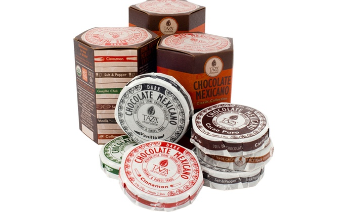 Taza Chocolate Mexicano Bundles: Taza Chocolate Bundles in Chocolate Mexicano Sampler or Classic Collection from $16.99–$21.99