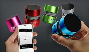 $29.99 For A Bassboomz Portable Bluetooth Speaker ($130 List Price). 6 Colors Available. Free Shipping And Returns.
