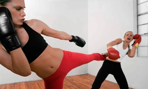 Empower: 5 or 10 Kickboxing Classes at Empower (Up to 92% Off)