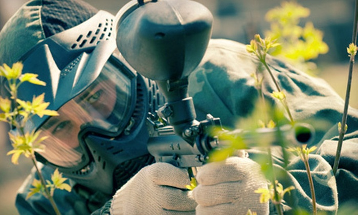 Air Warriors Paintball - Lemoore: $18 for Paintball Package with Gear Rental and 200 Paintballs at Air Warriors Paintball in Lemoore ($36 Value)