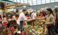 """Tagesticket für die Messe """"Land & Genuss"""" vom 23.02.-25.02.2018 in Frankfurt (50% sparen)"""