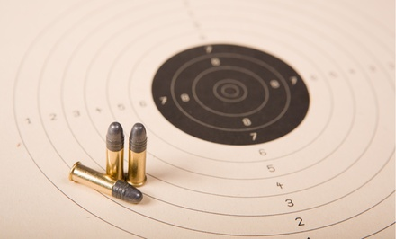 Shooting-Range Package for Two or Four at Plant City Gun Range-Shop (Up to 53% Off)