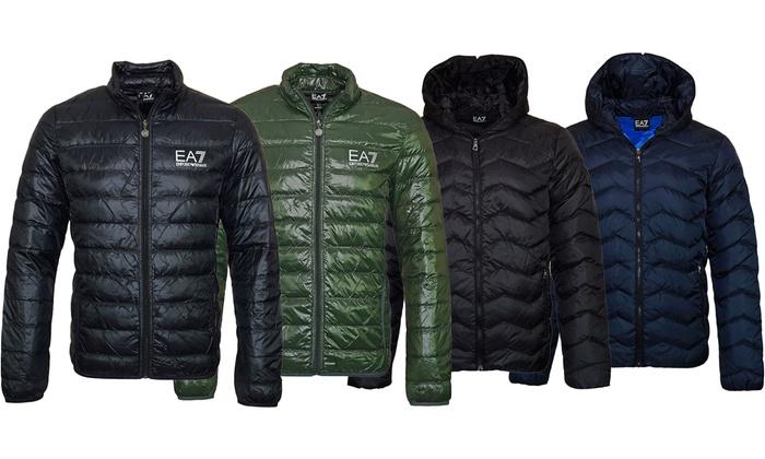 3b1c8e06 Emporio Armani EA7 Puffer Jackets | Groupon Goods