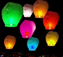 Sky Lanterns (24-Pack) at CONSUMER SHOPPING, plus 9.0% Cash Back from Ebates.