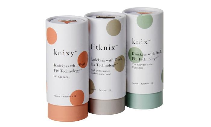 Knix Wear: High-Tech Underwear atKnix Wear(50% Off). Two Options Available.