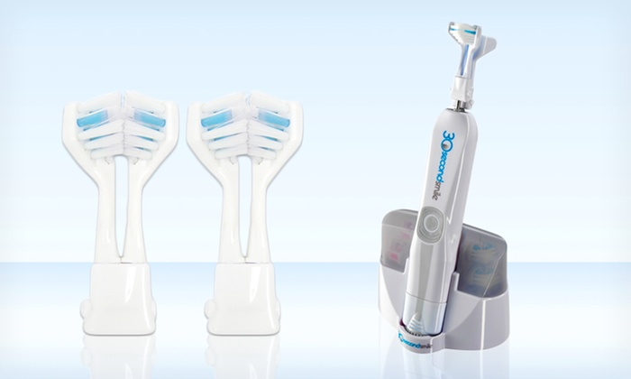 30 Second Smile Hydra Toothbrush Set: $54.99 for a 30 Second Smile Hydra Electric Toothbrush Set ($99.99 List Price). Free Shipping.