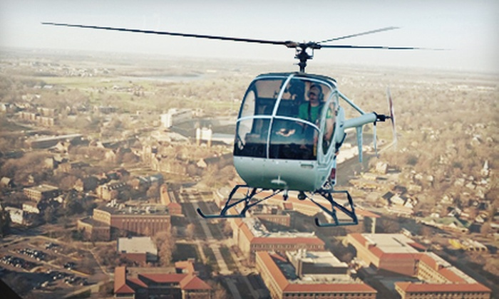 Vector Helicopters - Wabash: $99 for an Introductory Helicopter Flight Lesson at Vector Helicopters in West Lafayette ($195 Value)