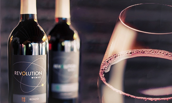 Revolution Wines - Central Sacramento: $89 for Six Bottles of Wine and Wine Tasting for Two at Revolution Wines ($149 Value)