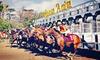 Santa Anita Chili Cookoff - Santa Anita Park: Horseracing Package for Two or Four at Santa Anita Park (Up to 57% Off). Seven Options Available.