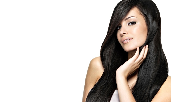 Angelina Image - Falls at Sope Creek Apartments: Haircut with Optional Single-Process Color or Partial Highlights at Angelina Image (Up to 59% Off)