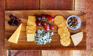 Orange Coast Winery: Tasting for Two, Glasses, and Cheese with Option for One or Two Take-Home Bottles at Orange Coast Winery (Up to 66% Off)