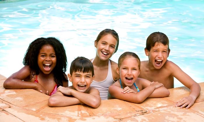 Goldfish Swim School - Okemos: Birthday Package for Up to 24 or Six-Family-Swim Pass at Goldfish Swim School (Up to 56% Off)