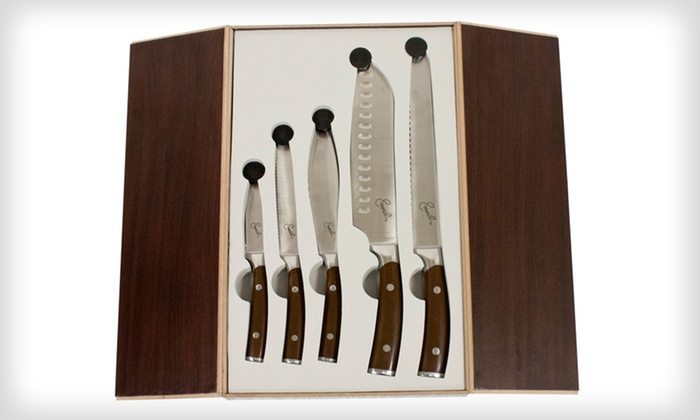 Emeril 5-Piece Cutlery Set: Emeril 5-Piece Cutlery Set. Multiple Sets Available.