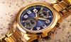 August Steiner Men's Multifunction Quartz Watch: August Steiner Men's Multifunction Quartz Watch
