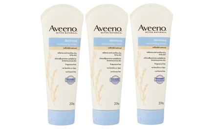 206g Aveeno Dermexa Moisturising Creams: Three ($19.95) or Six ($29.95) (Don't Pay up to $119.94)